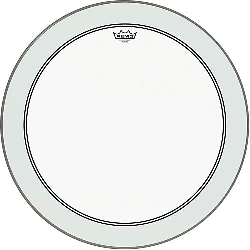 Remo Powerstroke 3 Clear Bass Drum Head with Impact Patch thumbnail