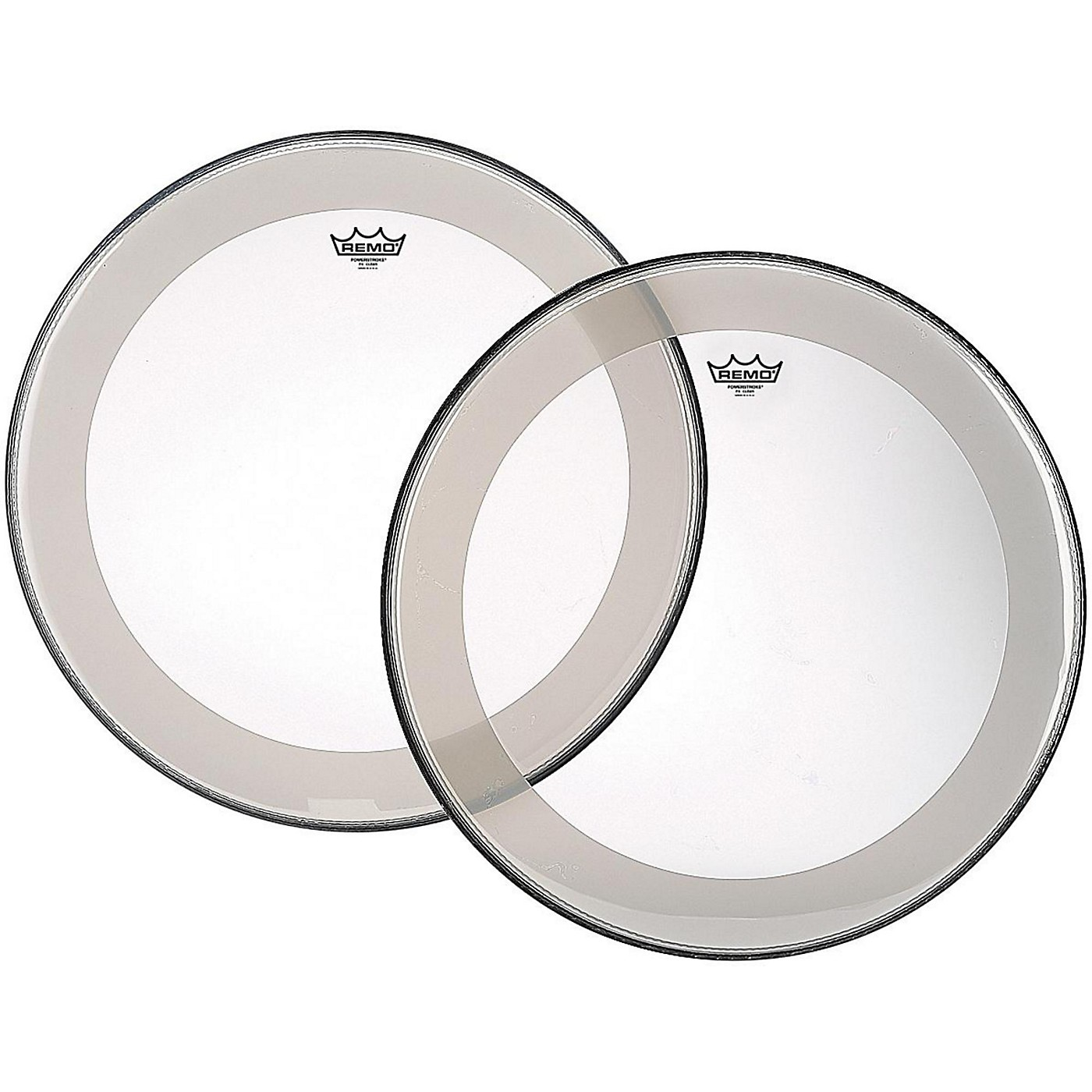Remo Powerstroke 4 Clear Batter Bass Drum Head with Impact Patch thumbnail