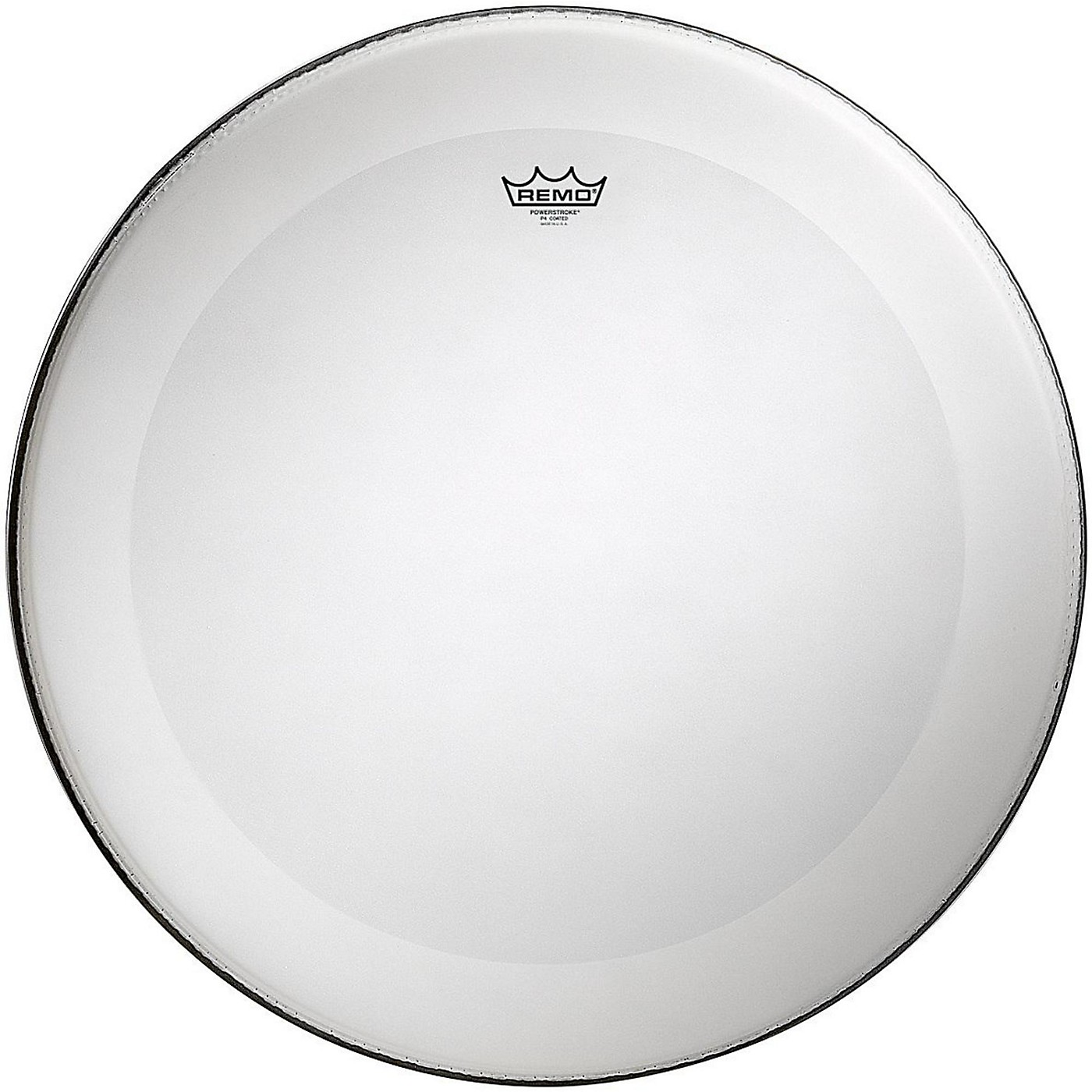 Remo Powerstroke 4 Coated Batter Bass Drum Head with Impact Patch thumbnail
