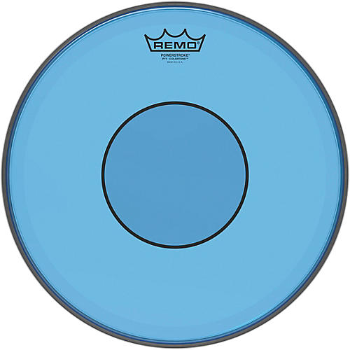 remo powerstroke 77 colortone blue drum head woodwind brasswind. Black Bedroom Furniture Sets. Home Design Ideas