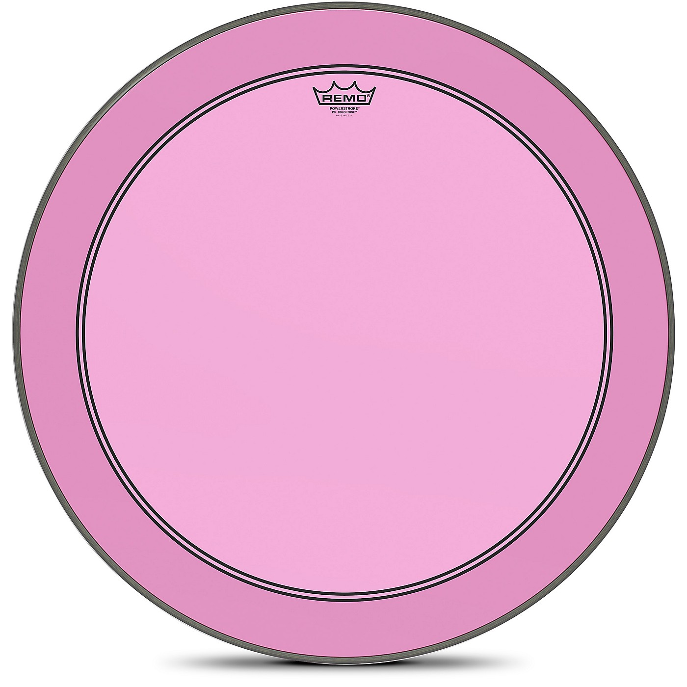 Remo Powerstroke P3 Colortone Pink Bass Drum Head thumbnail