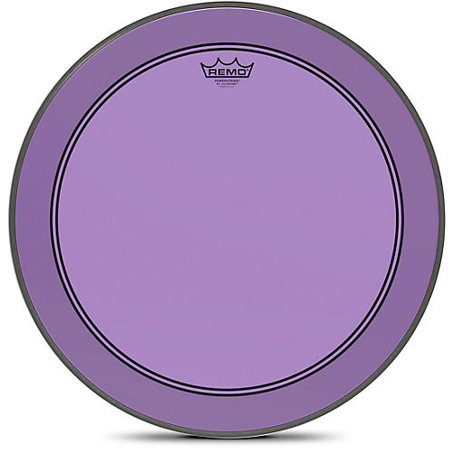 remo 20 in powerstroke p3 colortone purple bass drum head woodwind brasswind. Black Bedroom Furniture Sets. Home Design Ideas