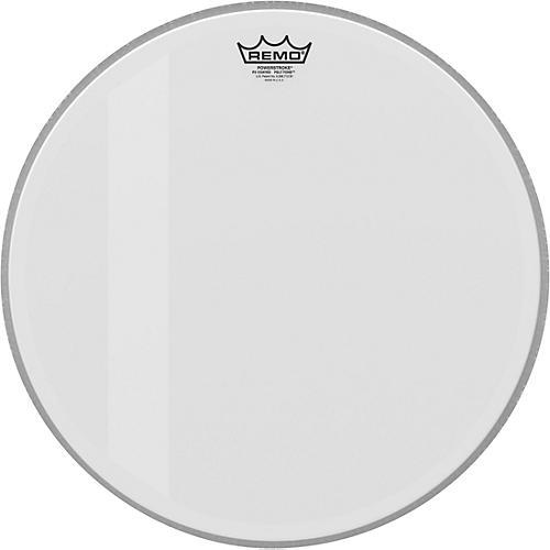 remo 18 in powerstroke p3 felt tone coated bass drum head woodwind brasswind. Black Bedroom Furniture Sets. Home Design Ideas