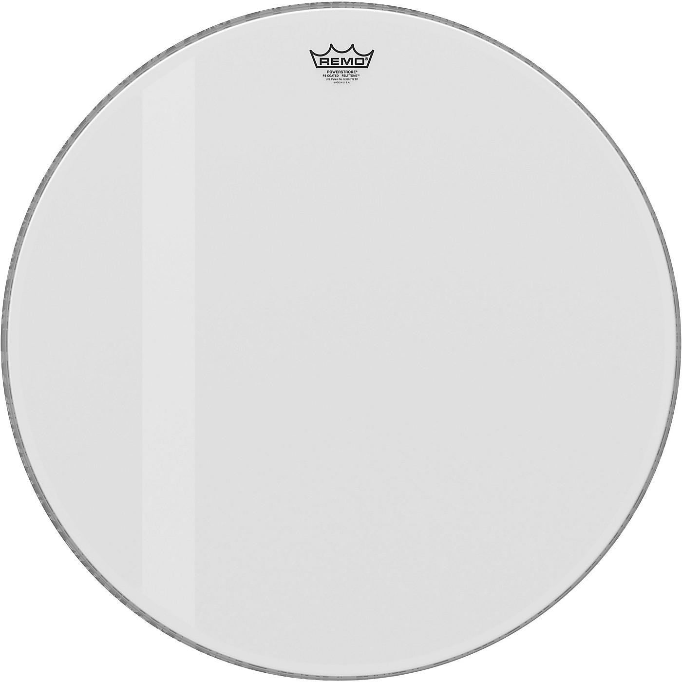 Remo Powerstroke P3 Felt Tone Coated Bass Drum Head thumbnail