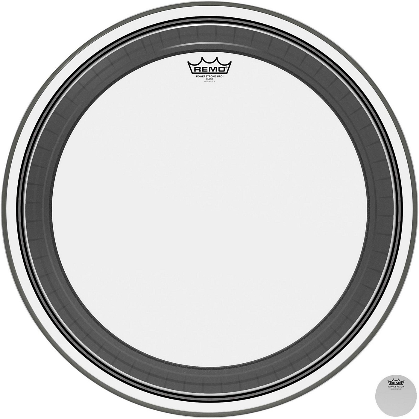 Remo Powerstroke Pro Bass Clear Drumhead thumbnail