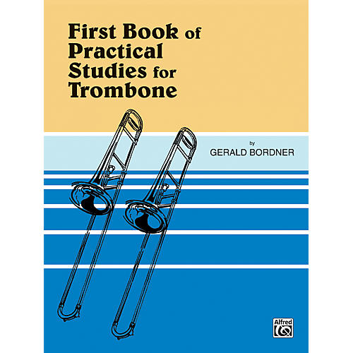 Alfred Practical Studies for Trombone Book I thumbnail