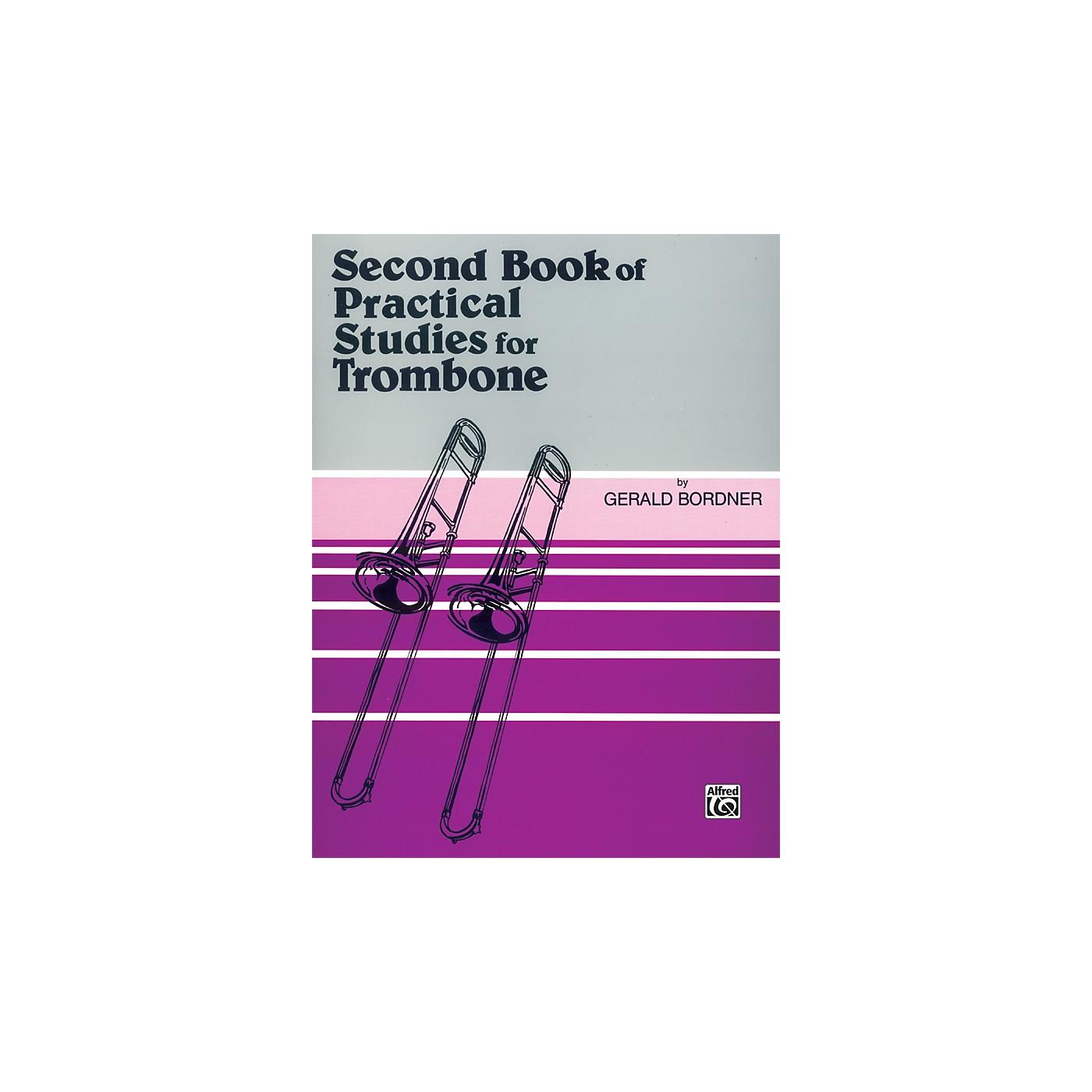 Alfred Practical Studies for Trombone Book II Book II thumbnail