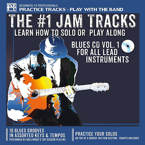 Practice Tracks Practice-Tracks: Blues for All Lead Instruments, Volume 1 CD-thumbnail