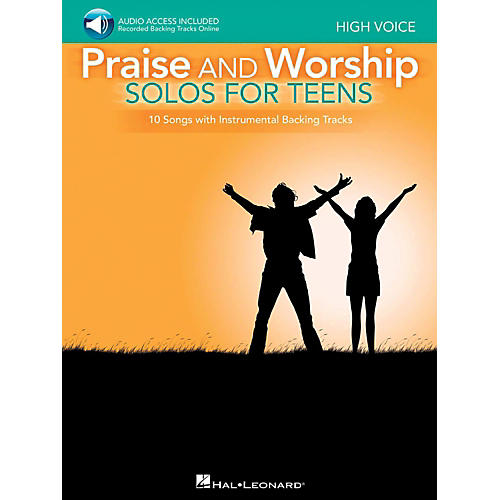 Hal Leonard Praise And Worship Solos For Teens - High Voice - Book/Audio Online Backing Tracks thumbnail