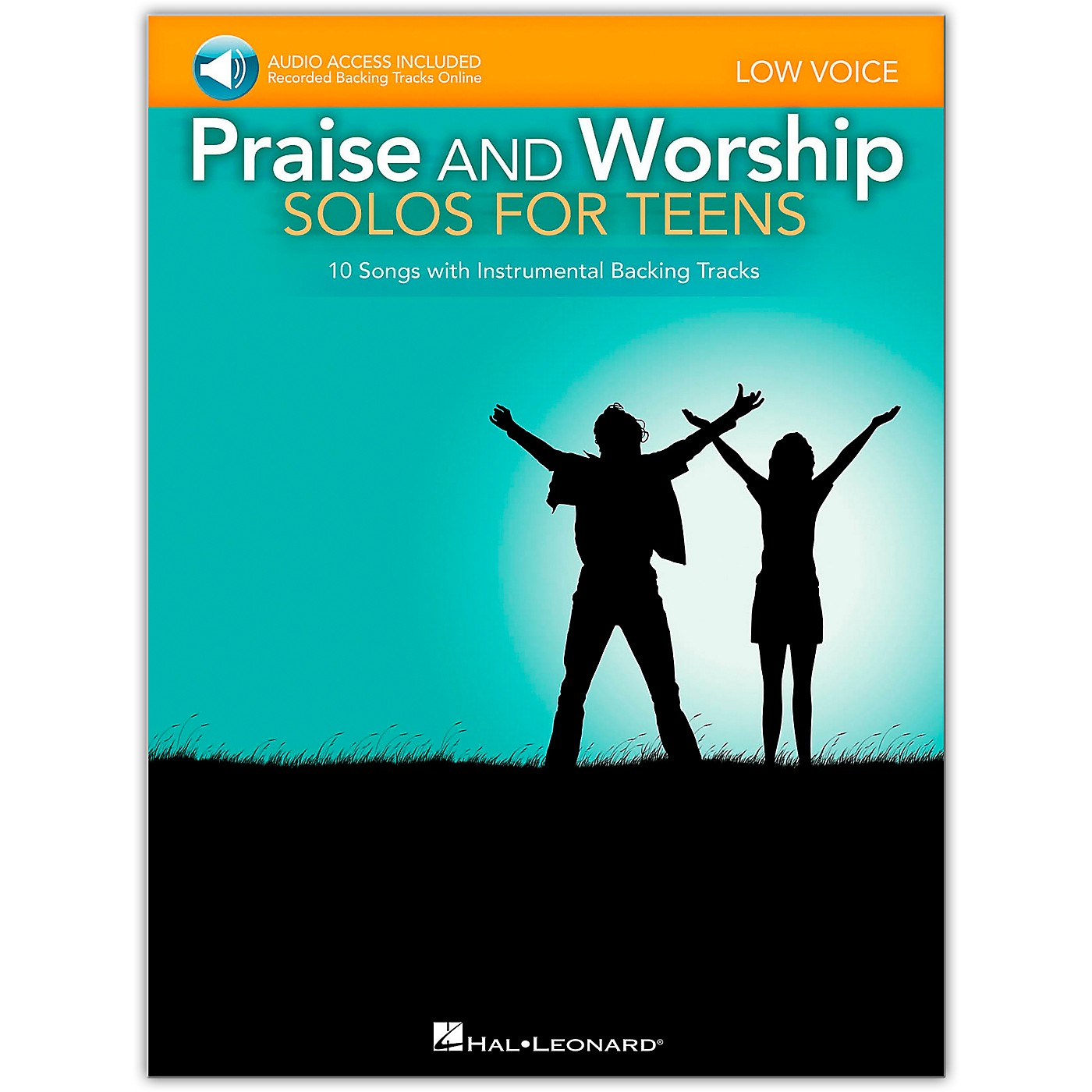 Hal Leonard Praise And Worship Solos For Teens - Low Voice - Book/Online Audio thumbnail