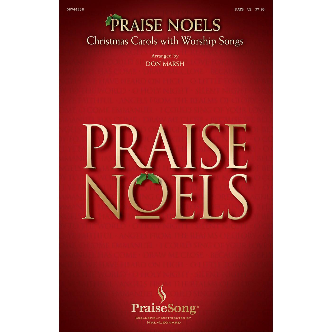 PraiseSong Praise Noels SATB composed by Don Marsh thumbnail