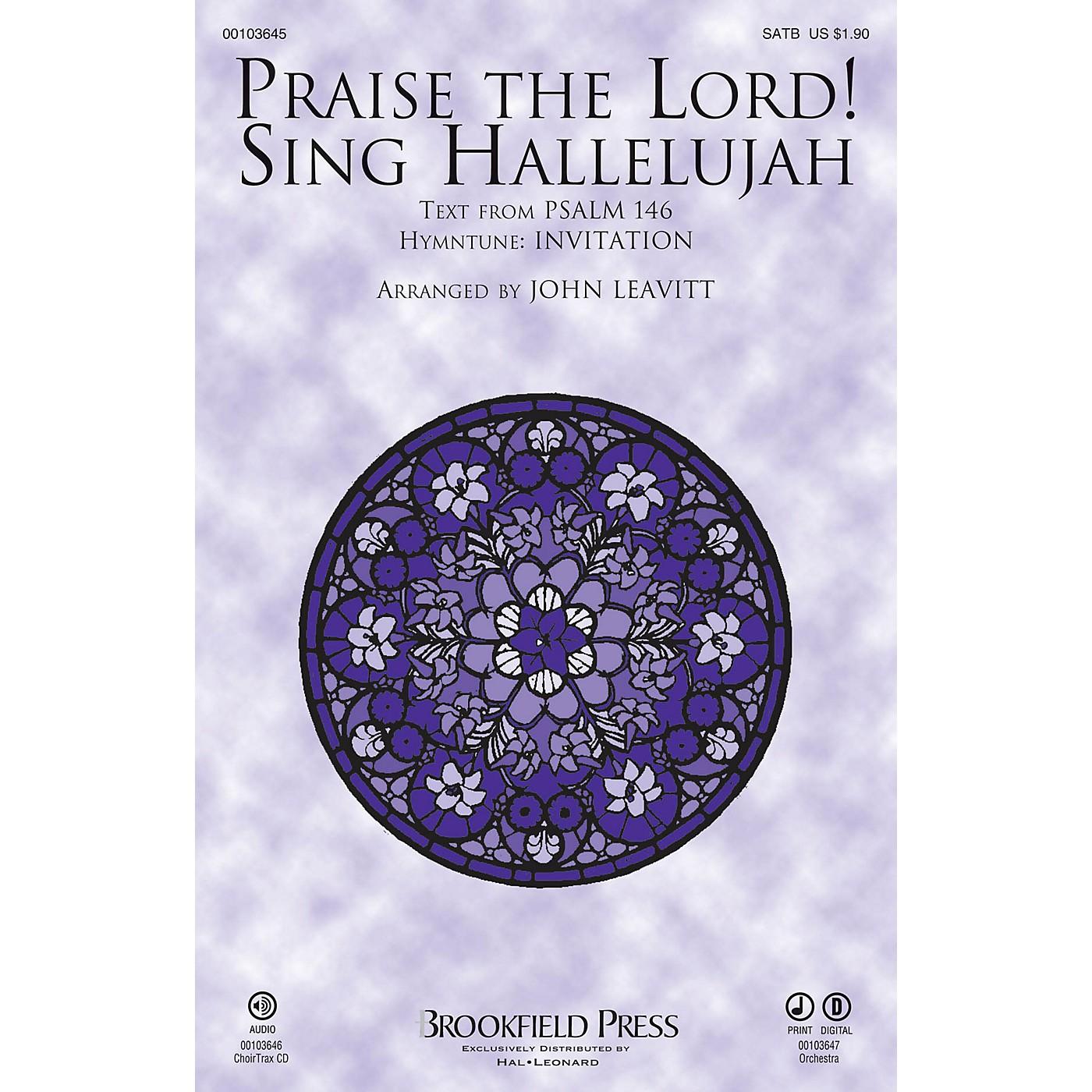 Brookfield Praise The Lord! Sing Hallelujah CHOIRTRAX CD Arranged by John Leavitt thumbnail