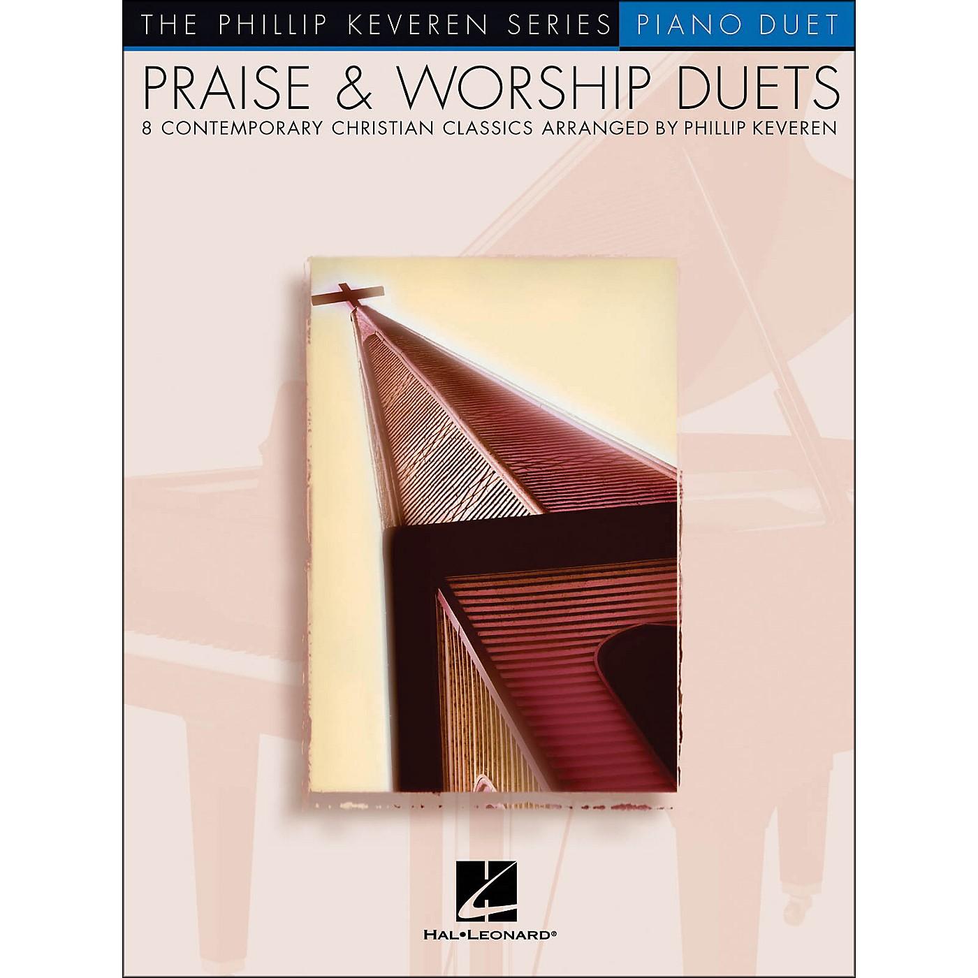 Hal Leonard Praise & Worship Duets Phillip Keveren Series Piano Duet thumbnail