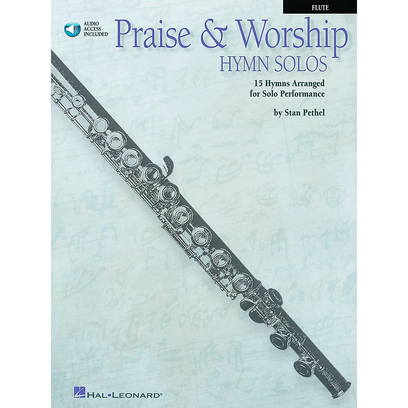 Hal Leonard Praise & Worship Hymn Solos - 15 Hymns Arranged for Solo Performance for Flute Book/CD Pkg thumbnail