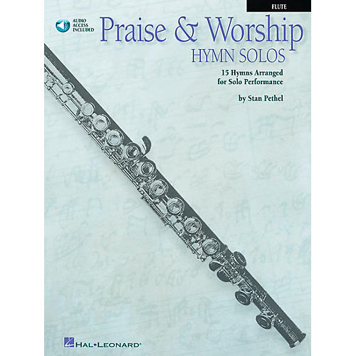 Hal Leonard Praise & Worship Hymn Solos - 15 Hymns Arranged for Solo Performance for Flute Book/CD Pkg thumbnail
