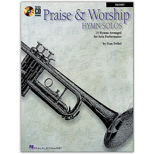 Hal Leonard Praise & Worship Hymn Solos - 15 Hymns Arranged for Solo Performance for Trumpet Book/CD thumbnail