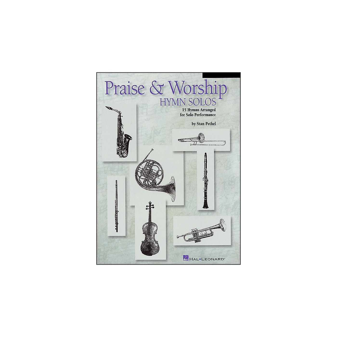 Hal Leonard Praise & Worship Hymn Solos - Trombone/Baritone Book/CD Package thumbnail
