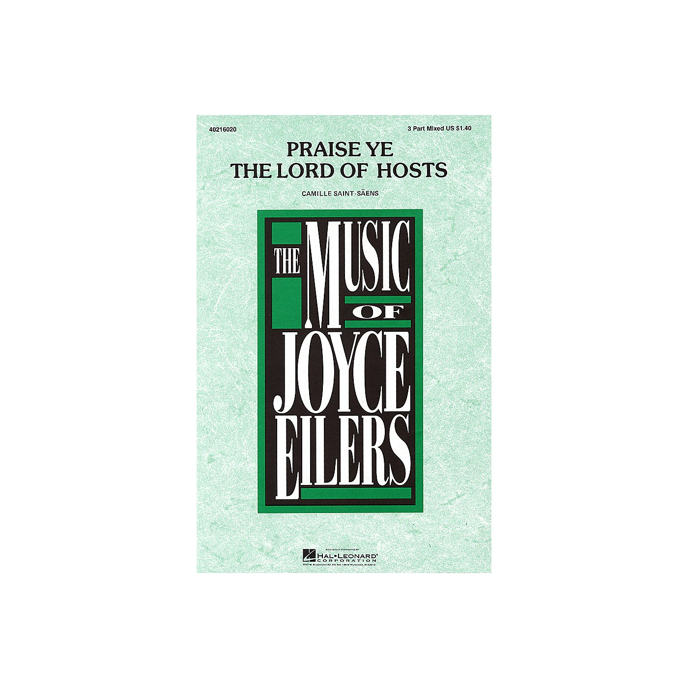 Hal Leonard Praise Ye the Lord of Hosts 3-Part Mixed arranged by Joyce Eilers thumbnail