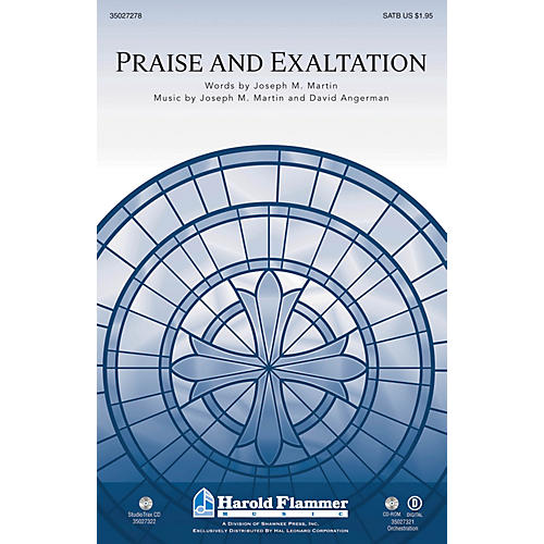 Shawnee Press Praise and Exaltation (Incorporating Praise to the Lord the Almighty) Studiotrax CD by Joseph M. Martin thumbnail