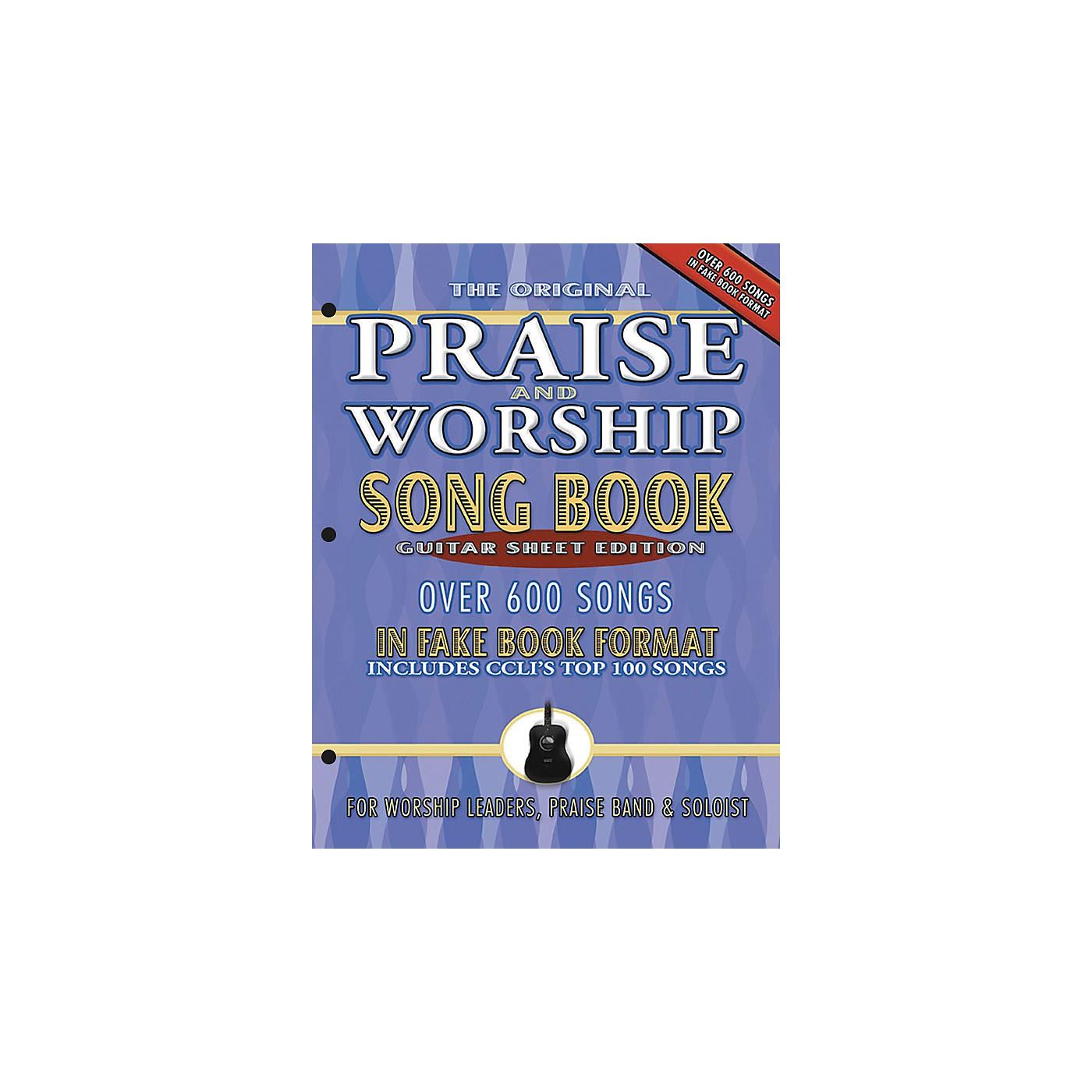 Brentwood-Benson Praise and Worship Fake Book (3-Hole Guitar Sheet Edition) thumbnail