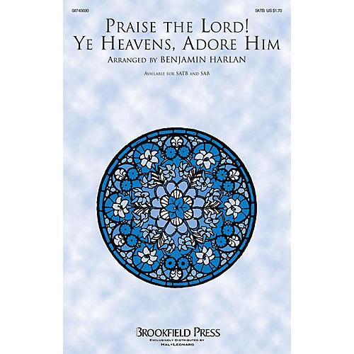 Brookfield Praise the Lord! Ye Heavens, Adore Him CHOIRTRAX CD Arranged by Benjamin Harlan thumbnail