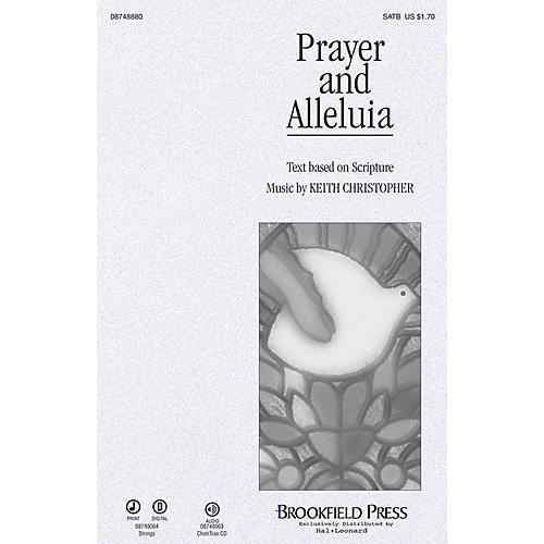 Brookfield Prayer and Alleluia CHOIRTRAX CD thumbnail