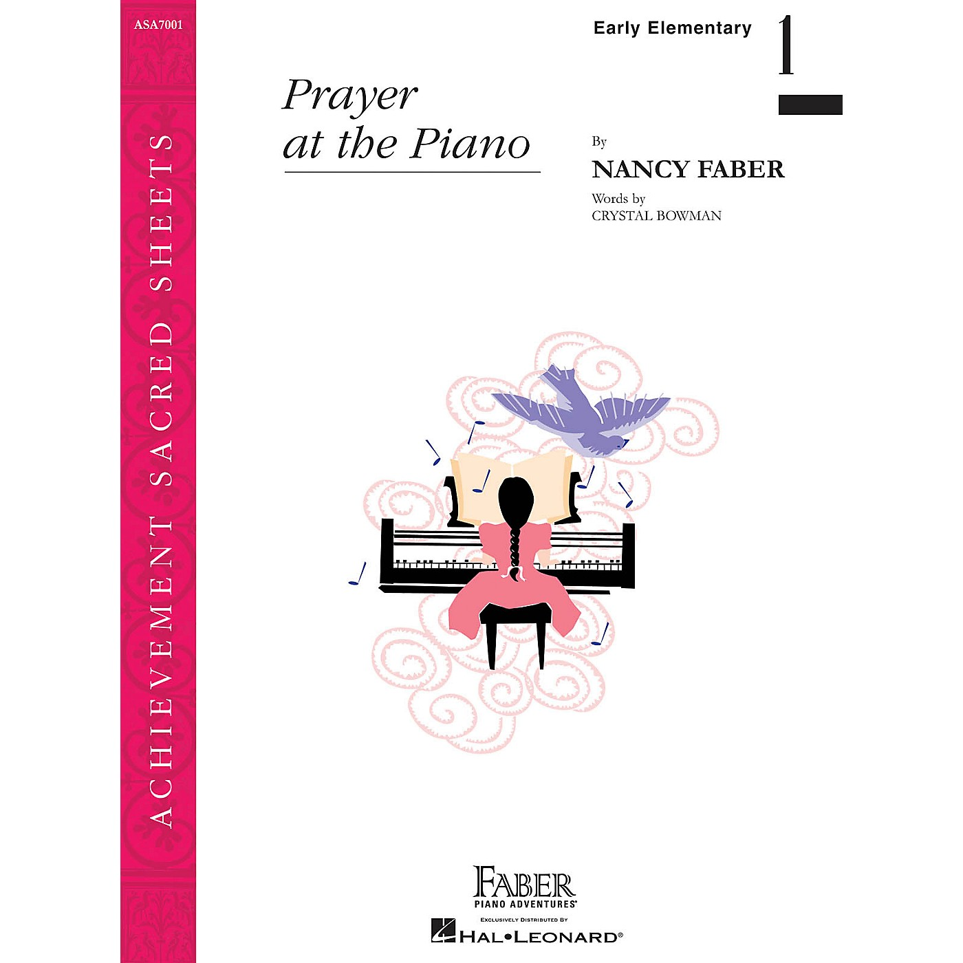 Faber Piano Adventures Prayer at the Piano (Early Elem/Level 1 Piano Solo) Faber Piano Adventures Series by Nancy Faber thumbnail