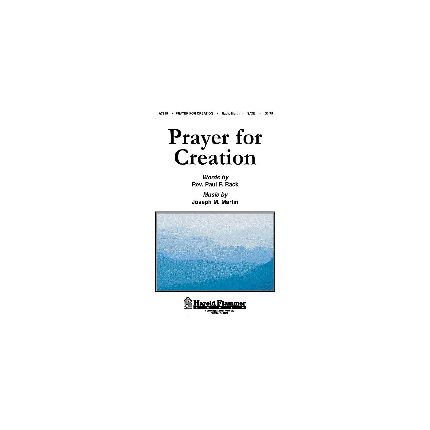 Shawnee Press Prayer for Creation SATB composed by Rev. Paul Rack thumbnail