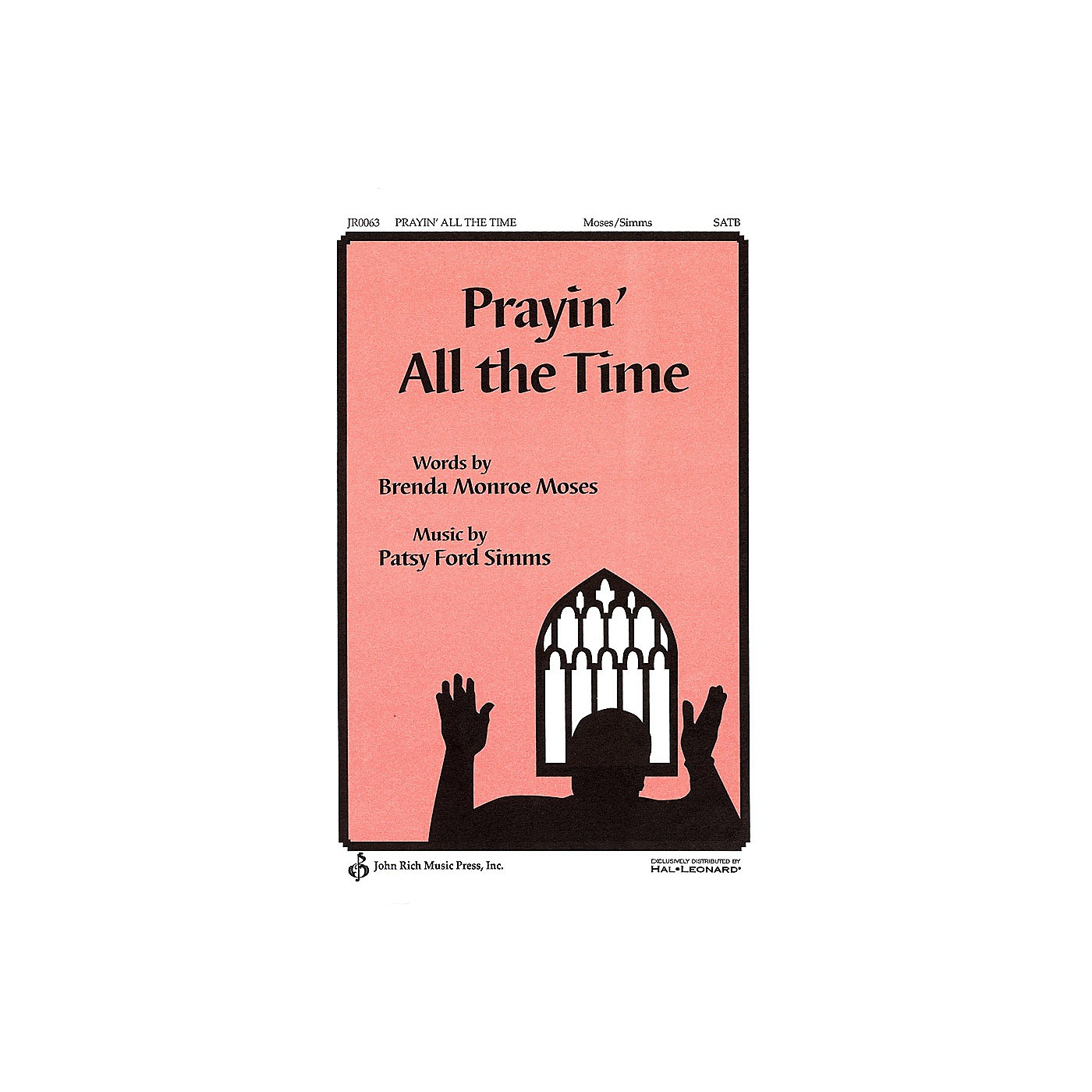 Pavane Prayin' All the Time SATB a cappella composed by Patsy Ford Simms thumbnail