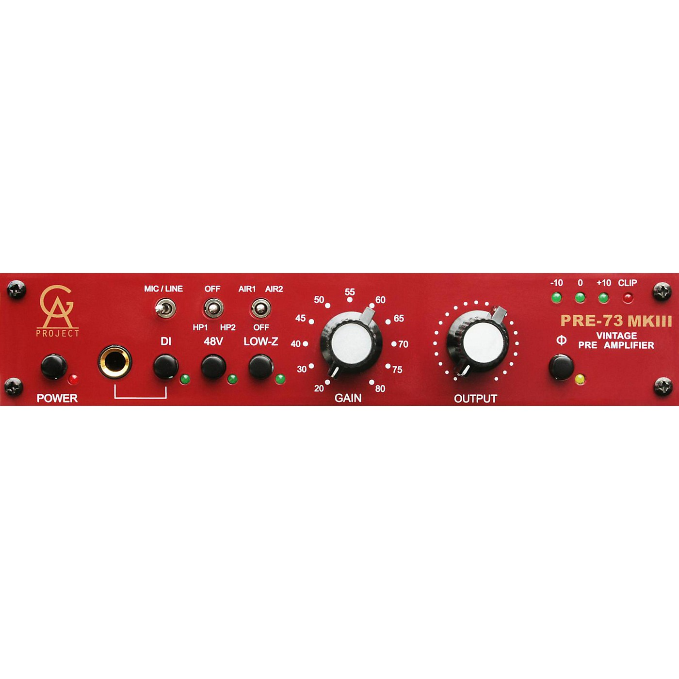 Golden Age Project Pre-73 MKIII Mic Preamp thumbnail