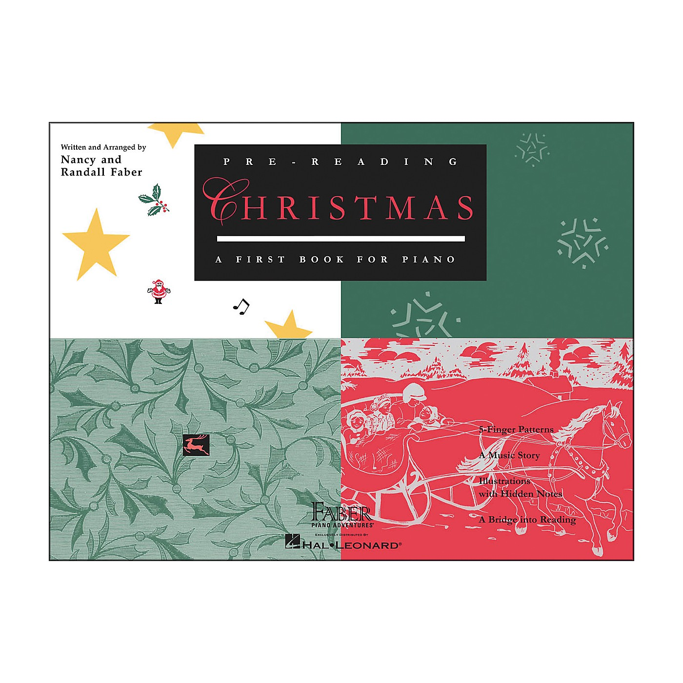 Faber Piano Adventures Pre-Reading Christmas - A First Book for Piano - Faber Piano thumbnail