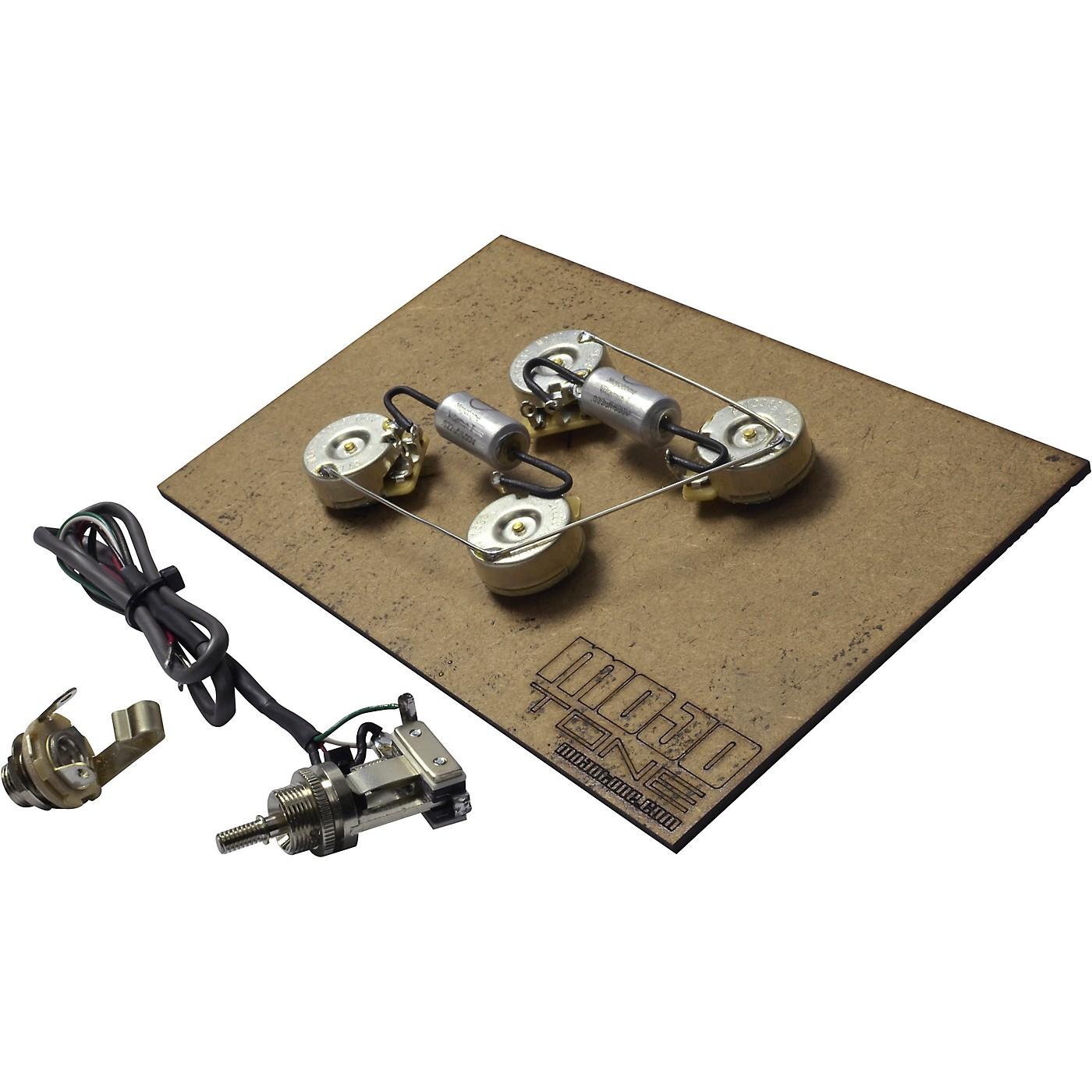 Mojotone Pre-Wired Les Paul Long Shaft Wiring Kit thumbnail