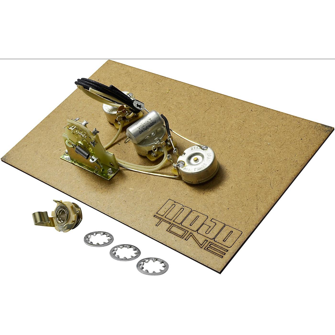 Mojotone Pre-Wired Strat Standard 5-Way Wiring Kit thumbnail