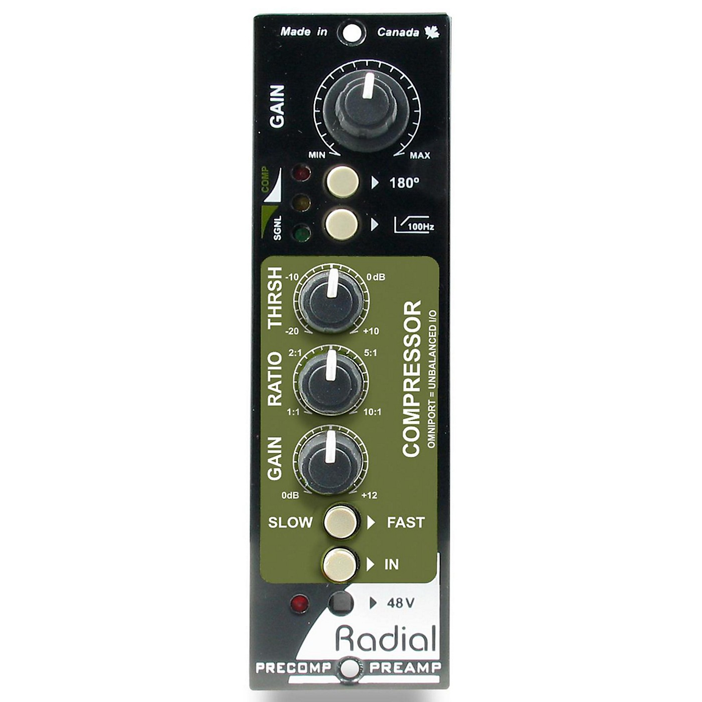 Radial Engineering PreComp 500 Series Channel Strip thumbnail