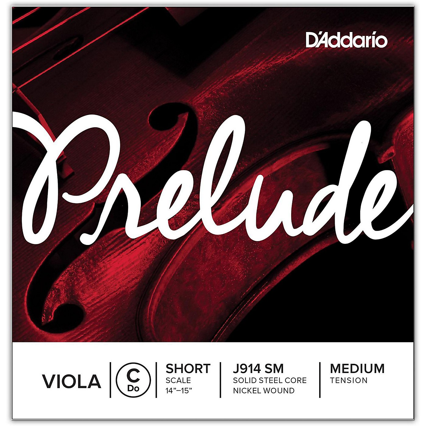 D'Addario Prelude Series Viola C String thumbnail