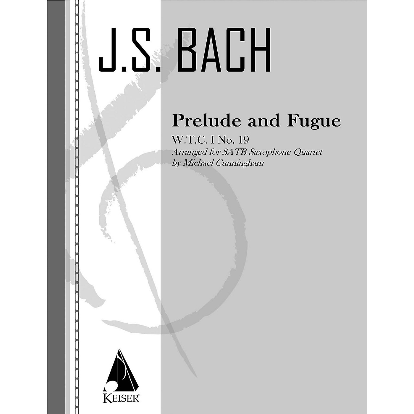 Lauren Keiser Music Publishing Prelude and Fugue LKM Music Series  by Johann Sebastian Bach Arranged by Michael Cunningham thumbnail