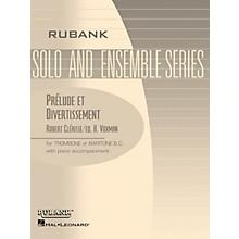 Rubank Publications Prelude et Divertissement Rubank Solo/Ensemble Sheet Series Softcover