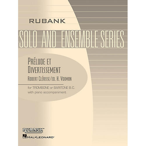 Rubank Publications Prelude et Divertissement Rubank Solo/Ensemble Sheet Series Softcover thumbnail