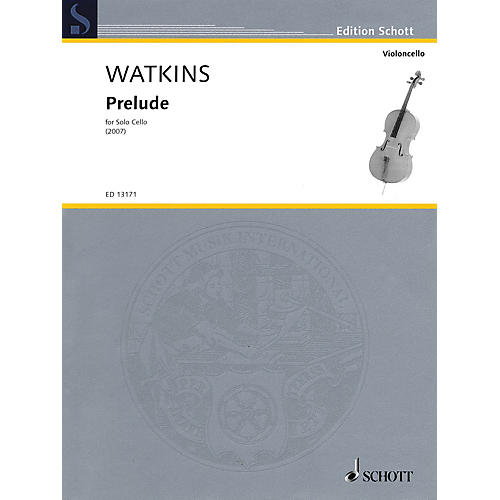 Schott Prelude (for Solo Cello) String Solo Series Softcover thumbnail