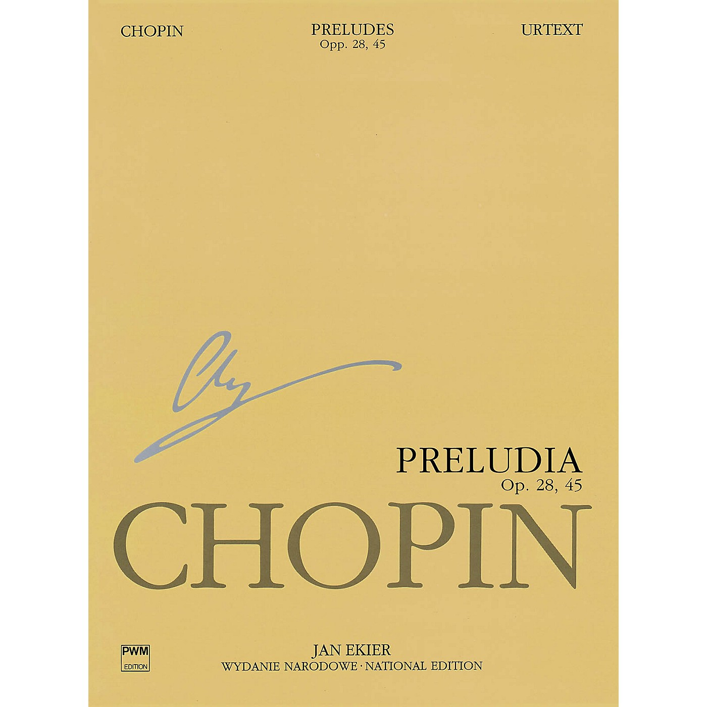PWM Preludes (Chopin National Edition Vol. VII) PWM Series Softcover thumbnail