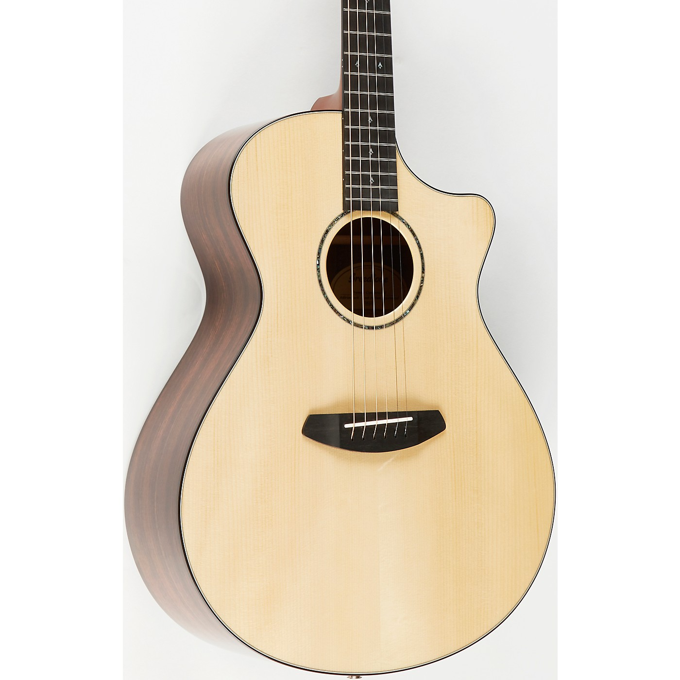 Breedlove Premier Concerto CE Adirondack-East Indian Rosewood Acoustic-Electric Guitar thumbnail