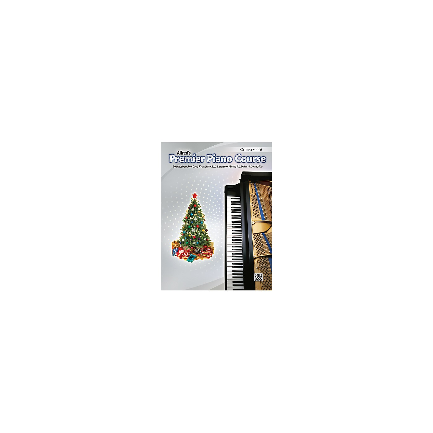 Alfred Premier Piano Course Christmas Book 6 thumbnail