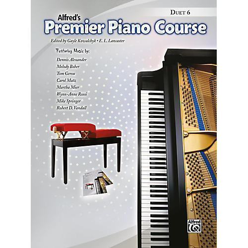 Alfred Premier Piano Course, Duet 6 Book Level 6 thumbnail
