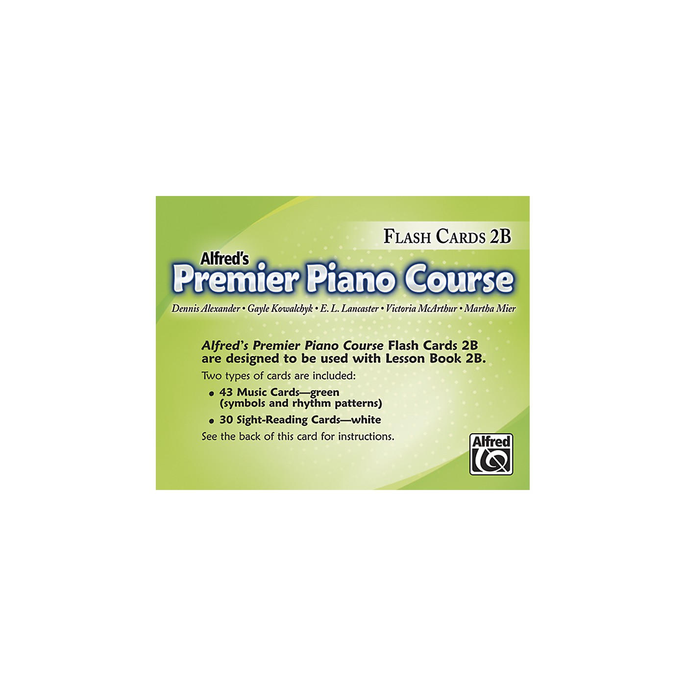 Alfred Premier Piano Course Flash Cards Level 2B thumbnail