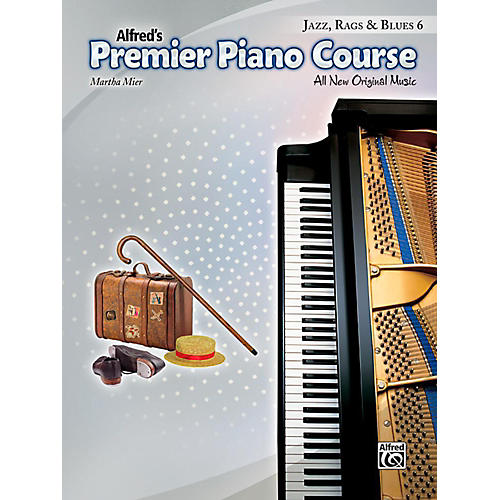 Alfred Premier Piano Course, Jazz, Rags & Blues - Book 6 thumbnail