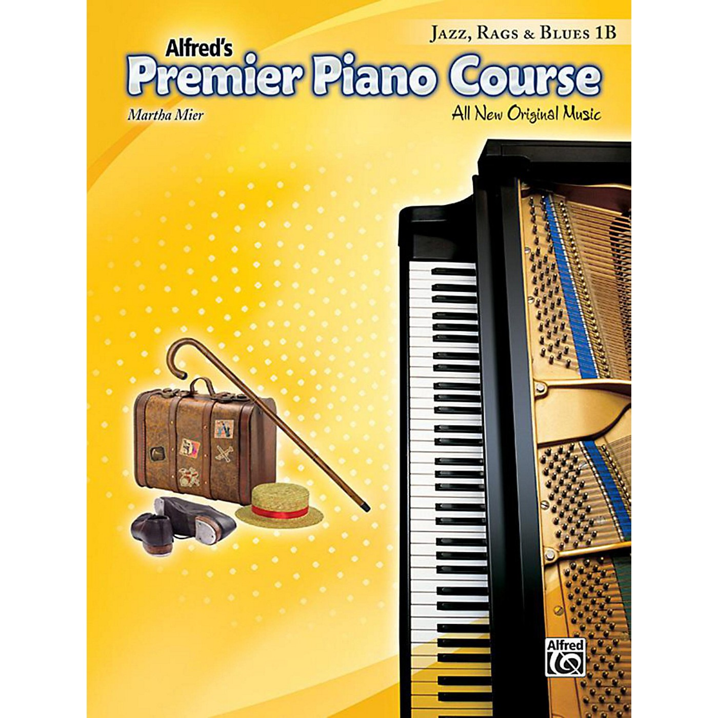 Alfred Premier Piano Course: Jazz, Rags & Blues Book 1B thumbnail