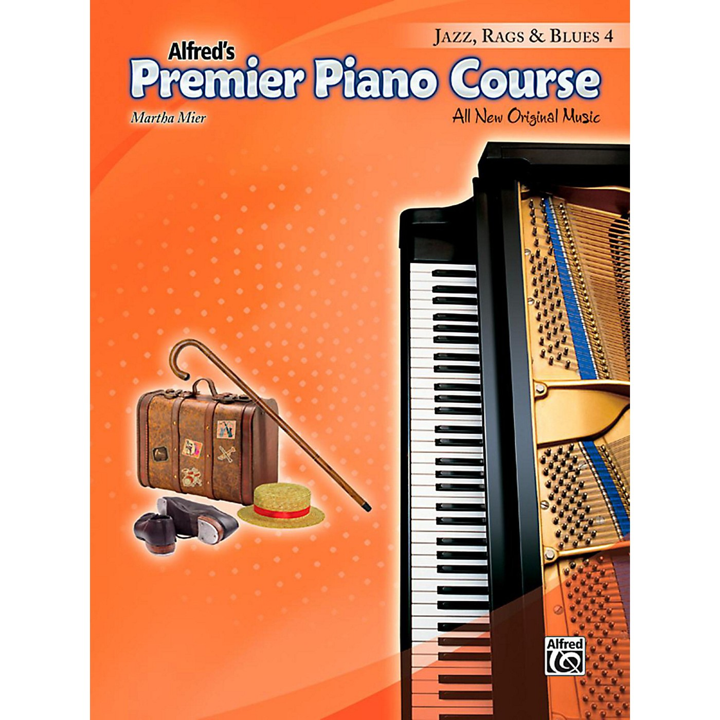 Alfred Premier Piano Course Jazz, Rags & Blues Book 4 thumbnail