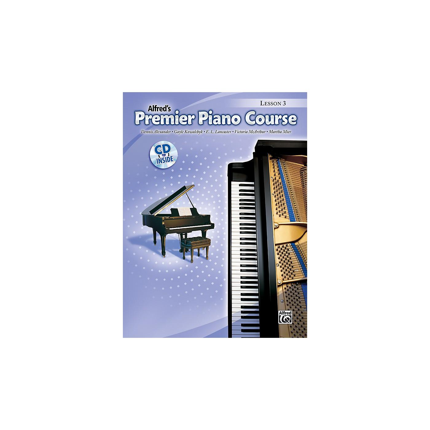 Alfred Premier Piano Course Lesson Book 3 Book 3 & CD thumbnail