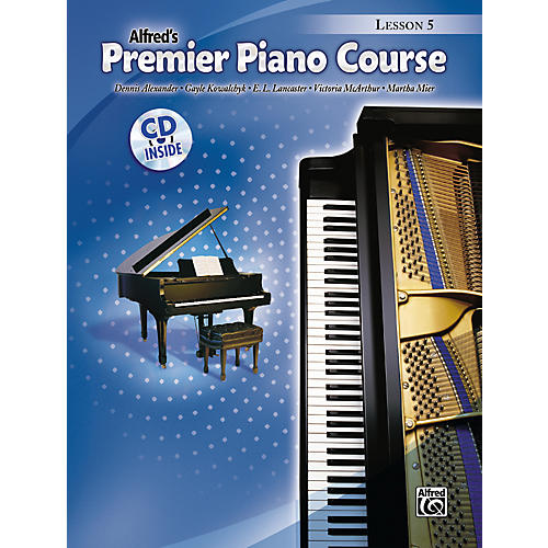 Alfred Premier Piano Course Lesson Book 5 thumbnail