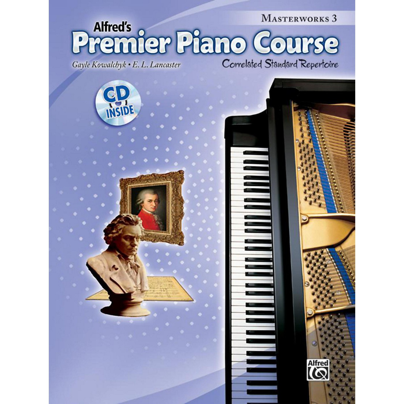 Alfred Premier Piano Course: Masterworks Book 3 & CD thumbnail
